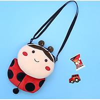 Túi đeo chéo cho bé gấu bông hình con bọ
