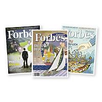 Combo tạp chí Forbes Việt Nam chủ đề du lịch