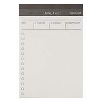 Tập Giấy Note Ghi Chú Kế Hoạch Ngày - To Do List (50 Tờ)