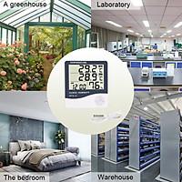 Đồng hồ điện tử đo nhiệt độ, độ ẩm HTC-2 màn hình LCD sử dụng pin AAA