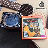 Bộ 6 dây guitar acoustic AW436 bấm cực mượt - tặng phím gảy đàn