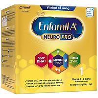 Sữa bột Enfamil A+ NeuroPro 1 với 2'-FL HMO cho trẻ từ 0 – 6 tháng tuổi– 2.2kg