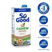 Sữa hạt điều So Good 1L, làm từ hạt điều Úc, calo thấp, ít ngọt, phù hợp mẹ bầu, sản xuất tại Úc