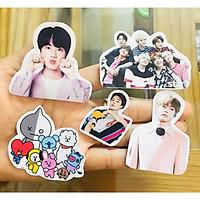 Ảnh sticker BTS thành viên 50 ảnh nhiều mẫu khác nhau