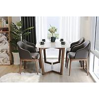 Bộ bàn ăn 4 ghế Orchid