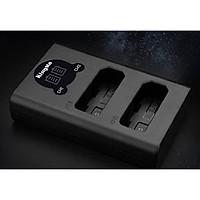 Sạc pin đôi LCD EN-EL14 Kingma hàng chính hãng.