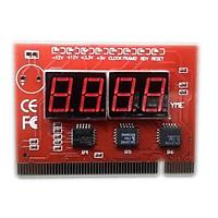 Card Test main (4 số, 8 đèn)