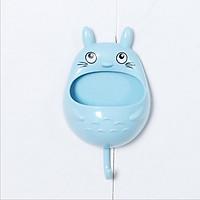 Hộp Đựng Đồ Khay Để Đồ Dán Tường Có Móc Siêu Dễ Thương Hình Totoro