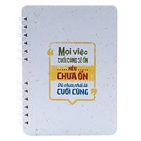Notebook - Mọi Việc Cuối Cùng Sẽ Ổn, Nếu Chưa Ổn Thì Chưa Phải Là Cuối Cùng