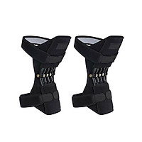 Knee Booster Knee Brace Durable Climb Black Fitness Sports Support Pad
