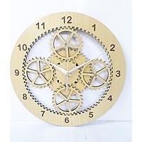 đồng hồ treo tường hình bánh răng mới lạ -tặng pin đồng  hồ, đồng hồ decor trang trí phòng trở nên độc đáo
