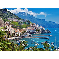 Tranh ghép hình 1000 mảnh 2cm khổ 54×74 – Tranh xếp hình Puzzle cao cấp Bờ Biển Amalfi, Ý
