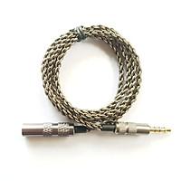 Dây 3.5mm nối dài sử dụng được Micro và nút điều khiển trên tai nghe - dây 4 lõi mạ bạc
