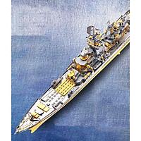 Mô hình thép 3D tự ráp tàu chiến Russian BattleCruiser