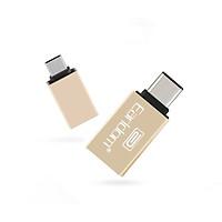 Jack Chuyển USB Sang Chân TypeC EarlDom OT06-Hàng chính hãng