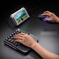 Single hand keyboard 28 phím chơi game mobile
