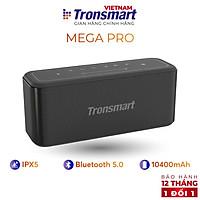 Loa Bluetooth 5.0 Tronsmart Element Mega Pro - 60W - Hỗ trợ TWS và NFC ghép đôi 2 loa - Hàng chính hãng