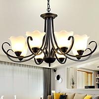 Đèn chùm - đèn trần - đèn trang trí nội thất - Phong cách cổ điển độc đáo