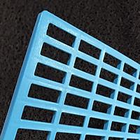 Tấm lót chuồng Pet size S 34*25*1cm, Sàn nhựa lót cho vật nuôi, thú cưng
