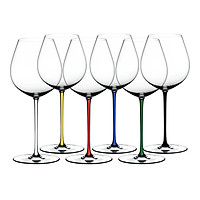 Bộ 6 Ly Rượu Vang Pha Lê Riedel Fatto A Mano Gift Set Old World Pinot Noir 7900/07