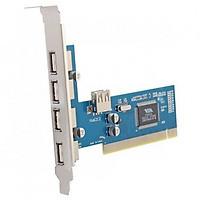 Card chuyển đổi PCI sang USB 4 port Dtech PC0016C - Hàng chính hãng
