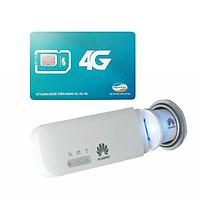 Huawei E8372 | USB 4G phát wifi Huawei E8372 tốc độ cao + Sim Viettel 4G Siêu tốc khuyến Mãi 60GB/Tháng - Hàng nhập khẩu