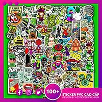 Set 50 Hình Sticker Chống Nước | Chủ Đề Tiền Money