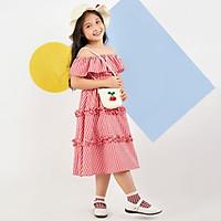 Váy đầm cho bé gái cao cấp Econice1. Size 5, 6, 7, 8, 10 tuổi mặc mùa hè