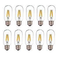Bộ 10 bóng đèn Led Edison T45 4W đui E27 hàng chính hãng.