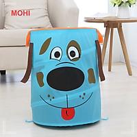 Túi đựng đồ chơi, túi đựng đồ bẩn có thể gấp gọn nhiều hình thù đáng yêu MOHI MT23 - Chính hãng