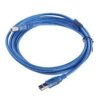 Dây Máy In 1.5M Kết Nối Cổng USB Có Cục Chống Nhiễu - Hàng Nhập Khẩu