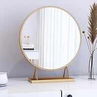 Gương bàn trang điểm, gương trang điểm để bàn đẹp 40cm