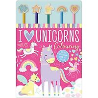 I Love Unicorns Colouring