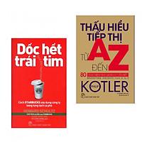 Combo Sách Kinh Tế: Dốc Hết Trái Tim - Cách Starbucks Xây Dựng Công Ty Bằng Từng Tách Cà Phê + Thấu Hiểu Tiếp Thị Từ A Đến Z - 80 Khái Niệm Nhà Quản Lý Cần Biết - (Tặng Kèm Postcard Greenlife)