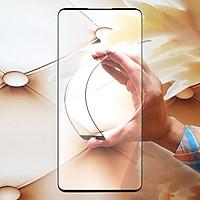 Miếng kính cường lực cho Oppo Reno 4 Pro Full màn hình - Đen