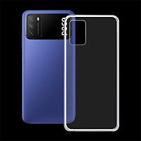 Ốp lưng cho điện thoại XIAOMI POCO M3 - 01344 - Ốp dẻo trong suốt, bảo vệ điện thoại - Hàng Chính Hãng