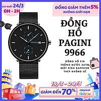 Giá FLASH SALE Đồng Hồ Nam PAGINI Dây Titanium Cao Cấp - Hiển Thị Lịch
