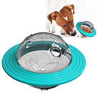 Pet Dog Toys Tumbler Leakage Ball Pet Dog Toy Food Dispenser Ball,Increases IQ Training Pet Play,Treat Dispensing Dog Toy for Medium Dogs and Cats
