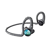 Tai nghe bluetooth Plantronics Backbeat Fit 2100 Màu Xám - Hàng chính hãng (212201-99) Tai nghe thể thao, chống thấm nước và mồ hôi, có sạc nhanh