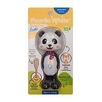 Bàn chải đánh răng cho bé từ 3 tuổi Singapore Pearlie White lông mềm, bảo vệ răng, nướu, nhỏ gọn và an toàn cho bé hình Gấu Trúc