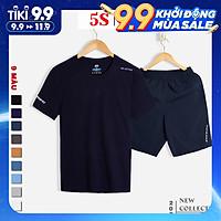 Bộ Quần Áo Thể Thao Nam 5S (9 màu), Chất Liệu Coolmax Siêu Mát, Bền Màu, Kiểu Dáng Trẻ Trung, Năng Động (BTSO21050)