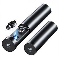 Tai Nghe Bluetooth 5.0 CAPARIES V14-B9 LED - (Tai Nghe Không Dây) Chống Nước - Chống ồn - Tích Hợp Micro - Tự Động Kết Nối - Nhỏ gọn - Âm Thanh 8.0 HD - Tương Thích Cao Cho Tất Cả Điện Thoại CHÍNH HÃNG