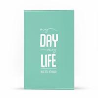 Sổ Tay Ghi Chép MỤC TIÊU - KẾ HOẠCH: My Day My Life