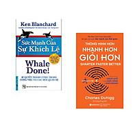Combo 2 cuốn sách: Sức Mạnh Của Sự Khích Lệ + Thông Minh Hơn Nhanh Hơn Giỏi Hơn