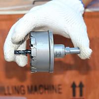 Mũi khoan khoét sắt UniFast MCT-66 (Ø66mm) chuyên dùng cưa lỗ trên kim loại với răng hợp kim siêu cứng
