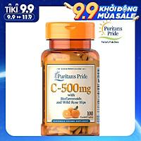 Thực Phẩm Chức Năng - Viên Uống Bổ Sung Vitamin C Tăng Cường Miễn Dịch, Chống Lão Hóa Cho Cơ Thể, Giúp Da Nhanh Liền Sẹo Thâm