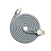 Cáp sạc cho iPhone cổng Lightning Remax King Data RC-063i - Hàng nhập khẩu
