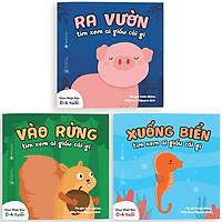 Combo 3 Cuốn Sách Ehon: Ai Giấu Cái Gì Đó (Dành Cho Trẻ Từ 0 - 4 Tuổi)