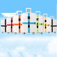 Nylon Cross Luggage Straps Luggage Straps Adjustable Non-Slip Baggage Belts