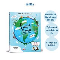 Sách Tương Tác Lật Mở Khám Phá  - Trái Đất của chúng ta - Sách Lift The Flap - Planet Earth- Nhà phát hành Đinh Tị